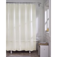 Mainstays Ivory Extra Lightweight Value Shower Liner, 70
