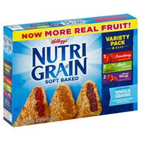 Kellogg's Nutri-Grain Soft Baked Breakfast Bars Variety Pack
