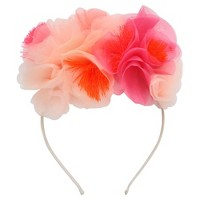 Meri Meri - Pink Floral Headband - Wearable Party Accessories - 1ct