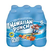Hawaiian Punch Polar Blast Juice, 10 Fl. Oz., 6 Count