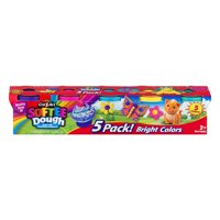 Cra-Z-Art Softee Dough 5pk, Basic