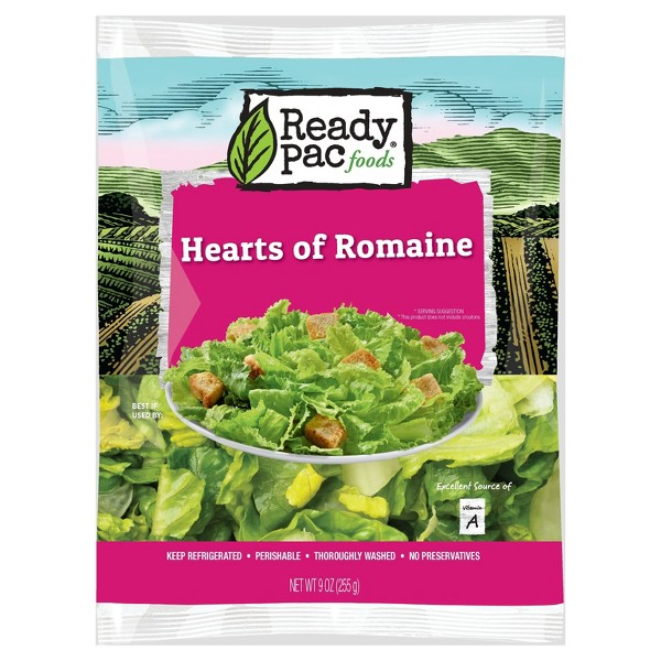 Ready Pac Foods Hearts of Romaine - 9oz
