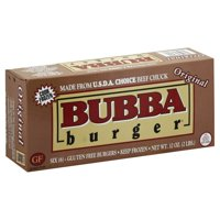 BUBBA burger® Original Burger, 6 ct, 2 lb