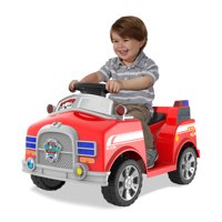 6 Volt Marshall Quad Ride-On for Kids With Realistic Firetruck Sounds by Dynacraft