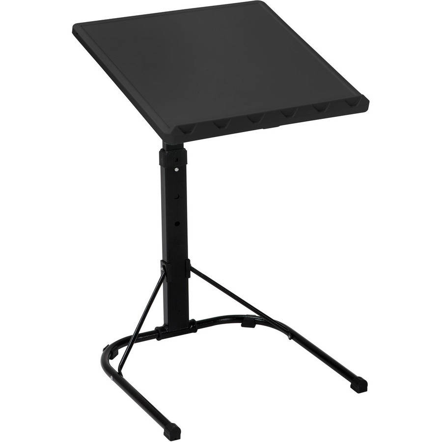 (2 Pack) Mainstays Portable Desk- Black