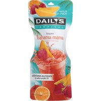 Daily's Tropical Frozen Bahama Mama Pouch Cocktail, 10 fl oz