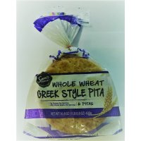 Sam's Choice Greek Pita Whole Wheat, 16.8 oz, 6 count