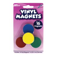 Horizon Group USA Vinyl Magnets, 16 Count