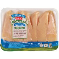 H E B Natural Chicken Breast Tenders