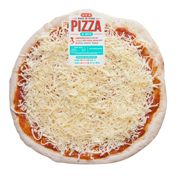 H-E-B 16'' Cheese Pizza