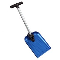 "Folding Snow Shovel with Bag - 8"" Blade - Blue - CASL Brands"