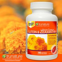trunature Vision Complex Lutein & Zeaxanthin Softgels, 140 ct
