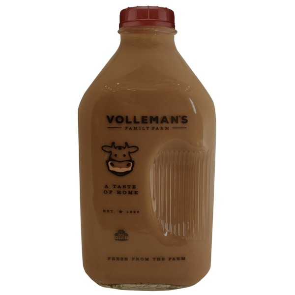 Volleman Family Farm Whole Chocolate Milk