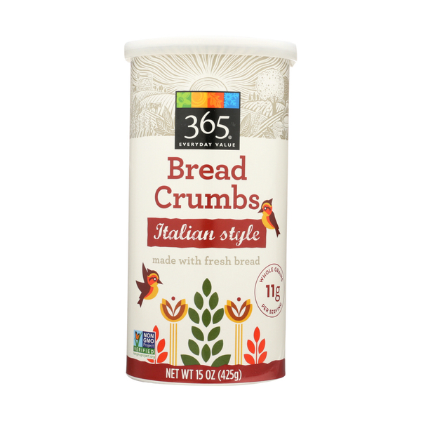 365 everyday value® Italian Style Bread Crumbs, 15 oz