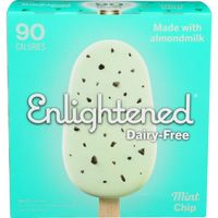 Enlightened Dessert Bars, Dairy-Free, Frozen, Mint Chip