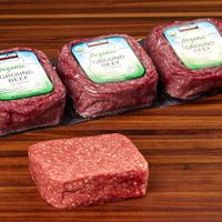 Kirkland Signature Organic Ground Beef, 4 lb