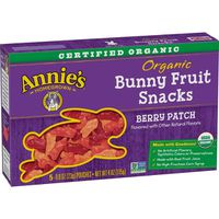 Annie's Homegrown Bunny Fruit Snacks, Organic, Berry Patch