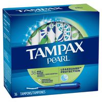 Tampax Pearl Plastic Super Absorbency, Unscented Tampons