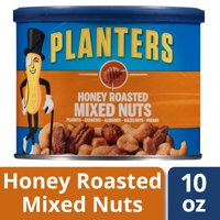 Planters Honey Roasted Mixed Nuts, 10.0 oz Canister