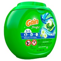 Gain flings! Laundry Detergent Pacs Blissful Breeze - 42ct