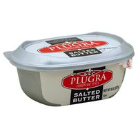 Plugra Butter, Salted, European Style