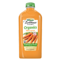 Bolthouse Farms 100% Organic Carrot, 52 oz.