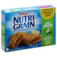 Kellogg's Nutri-Grain Soft Baked Breakfast Bars Apple Cinnamon