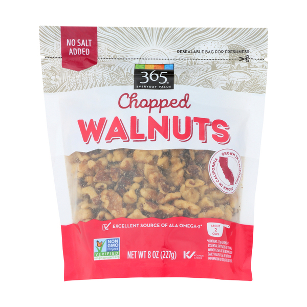 365 everyday value® Chopped Walnuts, 8 oz