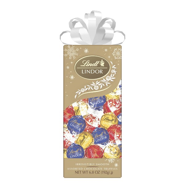 Lindt Holiday Traditions Assorted Chocolate Gift Box - 6.8oz