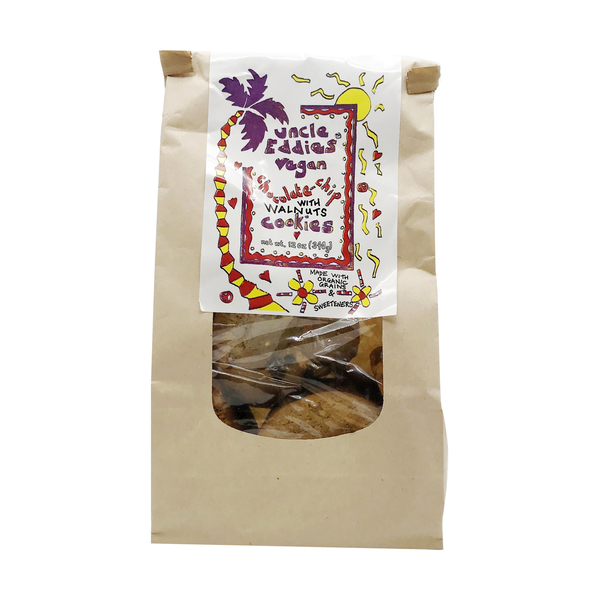 Uncle eddies vegan cookies Vegan Chocolate Chip With Walnut Cookies, 12 oz