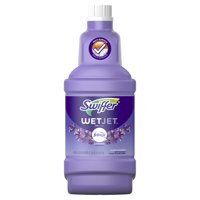 Swiffer WetJet Multi-Purpose and Hardwood Liquid Floor Cleaner Solution Refill, Lavender Vanilla & Comfort, 42.2 fl oz