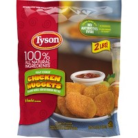 Tyson All Natural Frozen Chicken Nuggets - 32oz
