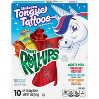 Fruit Snacks Fruit Roll-Ups, Variety Snack Pack, 5 oz