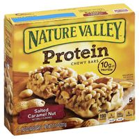 Nature Valley Chewy Bars, Protein, Salted Caramel Nut