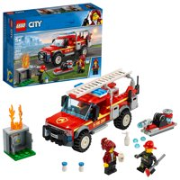 LEGO City Fire Chief Response Fire Truck 60231 Fire Rescue Building Set