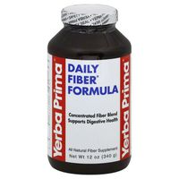Yerba Prima Fiber Formula, Daily, Bottle