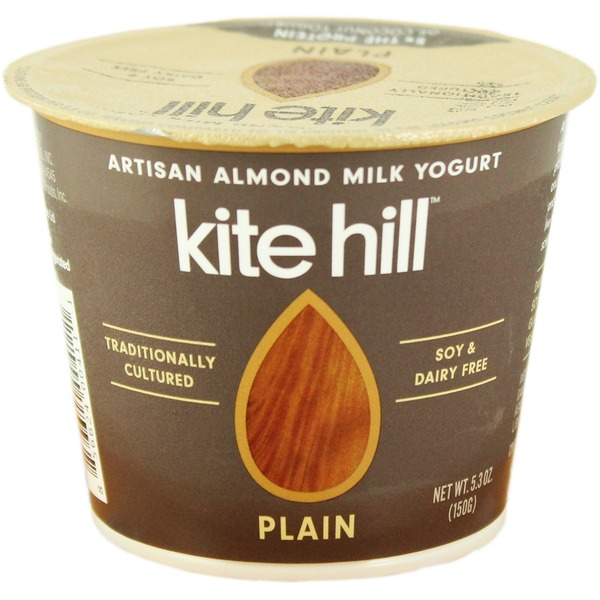 Kite Hill Yogurt, Almond Milk, Dairy Free, Plain
