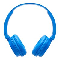 onn. Wireless On-Ear Headphones, Blue