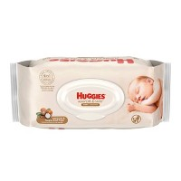 Huggies Nourish & Care Baby Wipes - 56ct