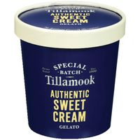 Tillamook Gelato, Authentic Sweet Cream