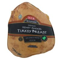 H-E-B Select Ingredient Honey Smoked Sliced Turkey Breast
