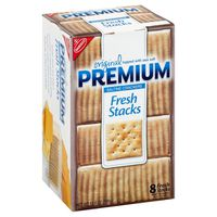 Premium Saltine Crackers, Original - Fresh Stacks