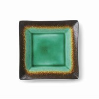 Better Homes & Gardens Jade Crackle Salad Plate