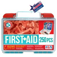 Be Smart Get Prepared First Aid Kit, 250 pc