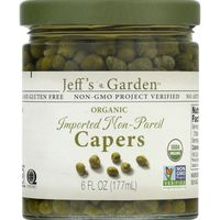 Jeff's Garden Capers, Organic, Imported Non-Pareil