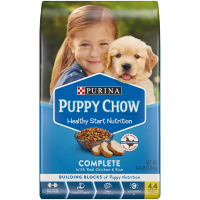 Purina Puppy Chow Complete With Real Chicken Dry Puppy Food (Various Sizes)