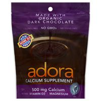 Adora Calcium Supplement, Dark Chocolate