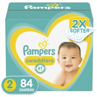 Pampers Swaddlers Diapers Size 2 84 Count