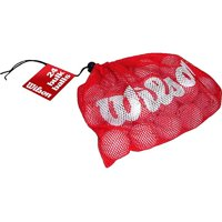 Wilson Golf Balls with Mesh Bag, 24 Pack