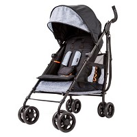 Summer Infant 3Dtote Convenience Stroller (Black/Gray)